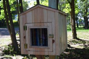 Little Free Library at Lakeshore Park