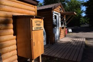 Little Free Library at Township Park