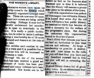 Ontonagon Herald archives, 1905